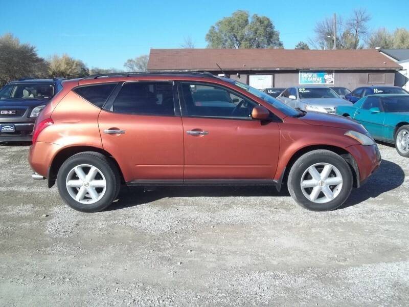 2004 Nissan Murano for sale at BRETT SPAULDING SALES in Onawa IA