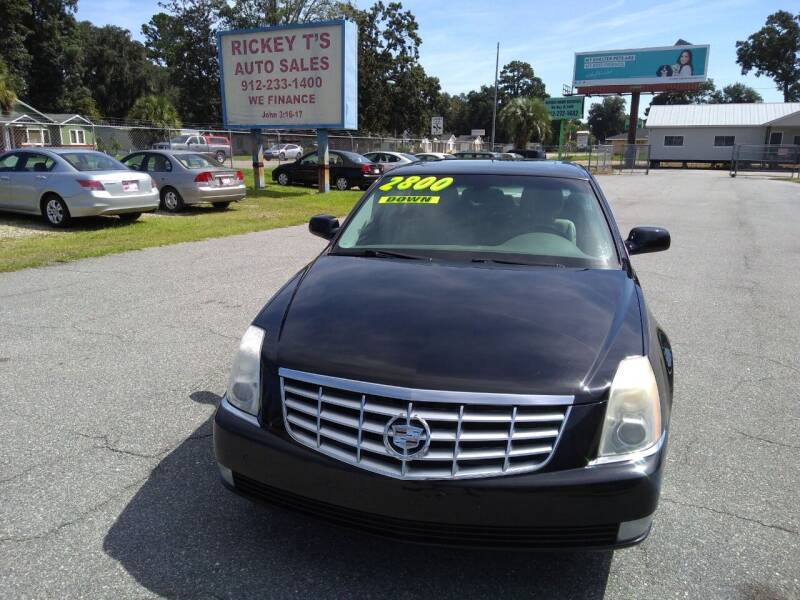 2010 Cadillac DTS for sale at Rickey T's Auto Sales in Garden City GA