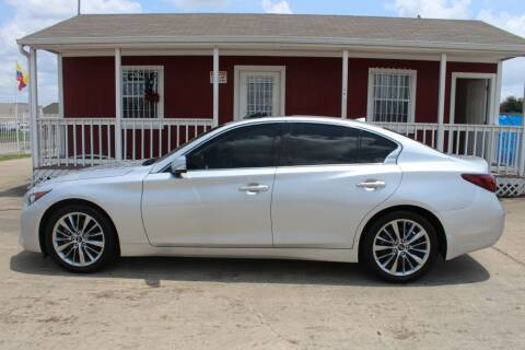 2018 Infiniti Q50 for sale at AMT AUTO SALES LLC in Houston TX