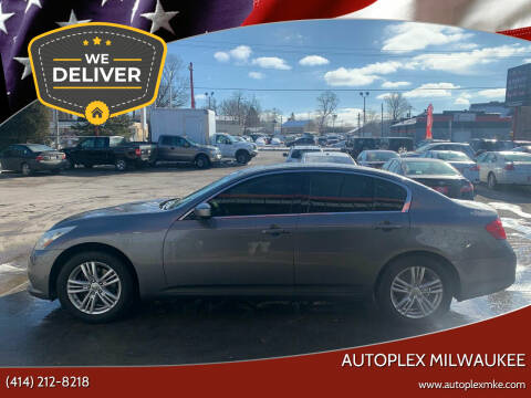 2011 Infiniti G25 Sedan for sale at Autoplex 2 in Milwaukee WI