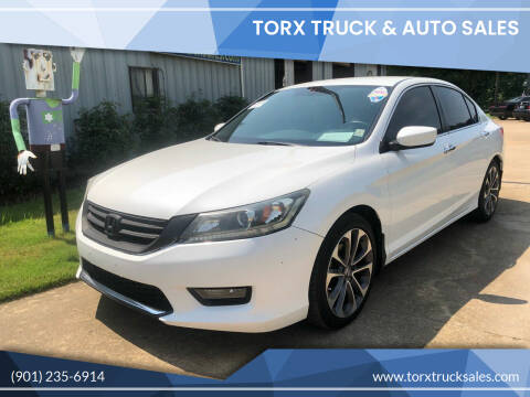 2014 Honda Accord for sale at Torx Truck & Auto Sales in Eads TN