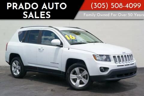 2016 Jeep Compass for sale at Prado Auto Sales in Miami FL
