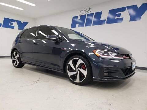 2020 Volkswagen Golf GTI for sale at HILEY MAZDA VOLKSWAGEN of ARLINGTON in Arlington TX