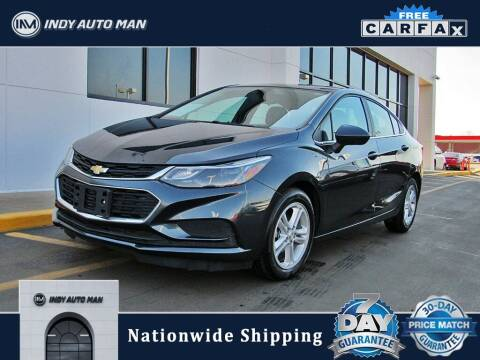 2018 Chevrolet Cruze for sale at INDY AUTO MAN in Indianapolis IN