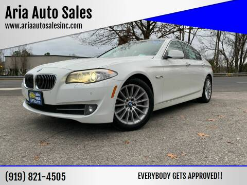 2012 BMW 5 Series for sale at ARIA  AUTO  SALES in Raleigh NC