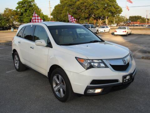 2012 Acura MDX for sale at United Auto Center in Davie FL