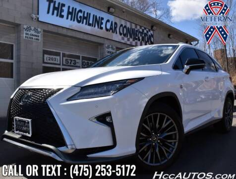 2017 Lexus RX 350 for sale at The Highline Car Connection in Waterbury CT