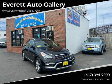 2017 Infiniti QX50 for sale at Everett Auto Gallery in Everett MA