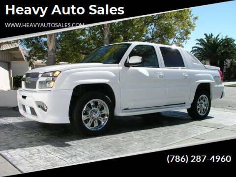 2007 Chevrolet Avalanche for sale at Heavy Auto Sales in Miami FL
