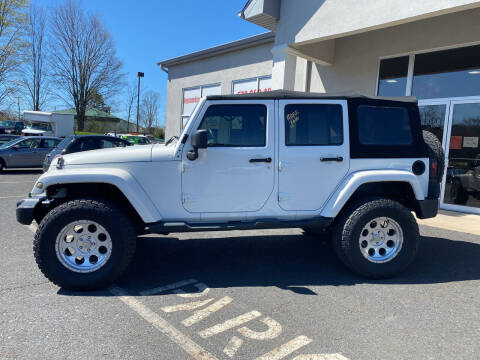 2010 Jeep Wrangler Unlimited for sale at Keystone Used Auto Sales in Brodheadsville PA