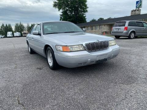 2001 Mercury Grand Marquis for sale at Hillside Motors Inc. in Hickory NC