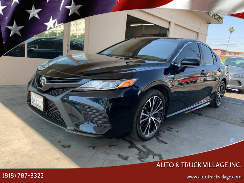 2019 Toyota Camry Hybrid for sale at Auto & Truck Village Inc. in Van Nuys CA