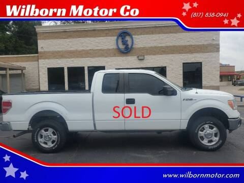 2014 Ford F-150 for sale at Wilborn Motor Co in Fort Worth TX
