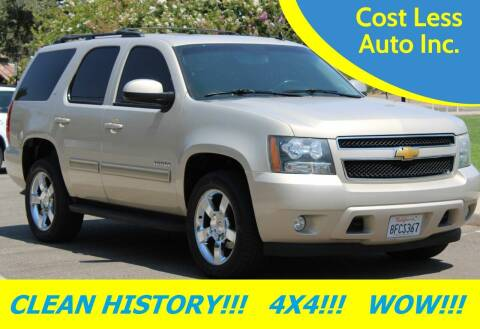 2012 Chevrolet Tahoe for sale at Cost Less Auto Inc. in Rocklin CA