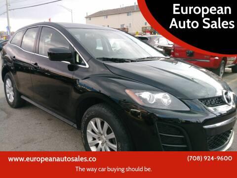 2011 Mazda CX-7 for sale at European Auto Sales in Bridgeview IL