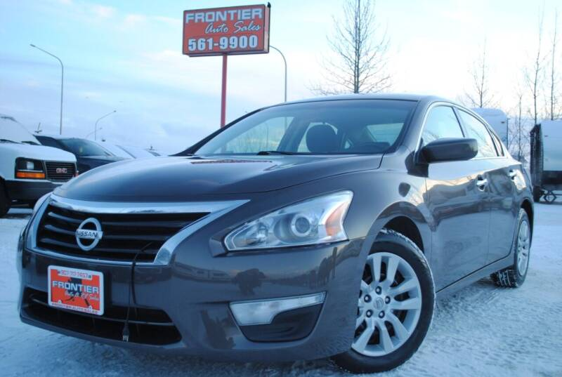 2014 Nissan Altima for sale at Frontier Auto & RV Sales in Anchorage AK