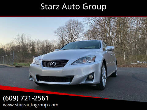 2013 Lexus IS 250 for sale at Starz Auto Group in Delran NJ