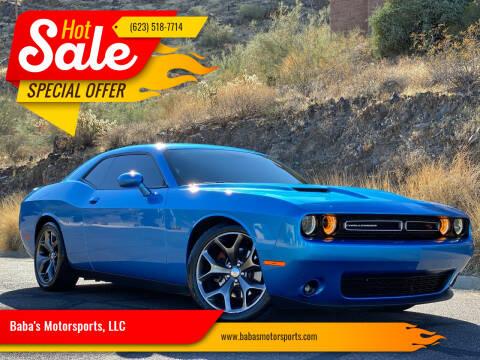 2015 Dodge Challenger for sale at Baba's Motorsports, LLC in Phoenix AZ