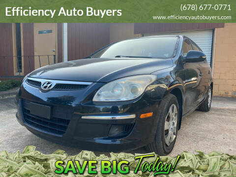 2010 Hyundai Elantra Touring for sale at Efficiency Auto Buyers in Milton GA