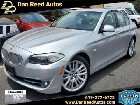 2011 BMW 5 Series for sale at Dan Reed Autos in Escondido CA