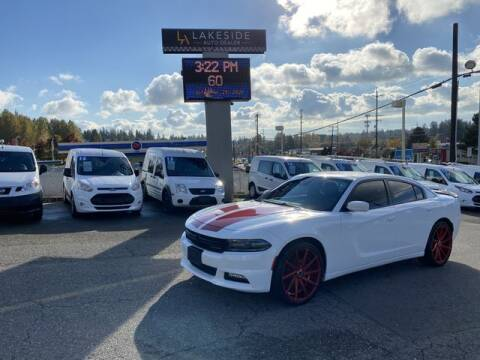 2018 Dodge Charger for sale at Lakeside Auto in Lynnwood WA
