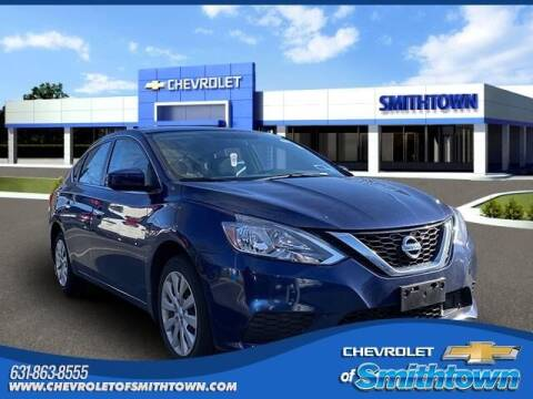 2019 Nissan Sentra for sale at CHEVROLET OF SMITHTOWN in Saint James NY