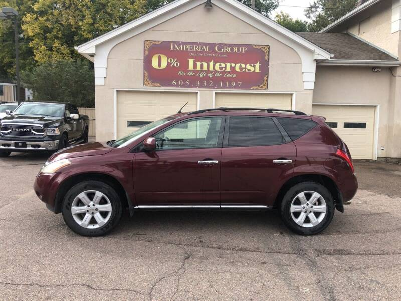 2007 Nissan Murano for sale at Imperial Group in Sioux Falls SD