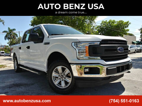 2018 Ford F-150 for sale at AUTO BENZ USA in Fort Lauderdale FL