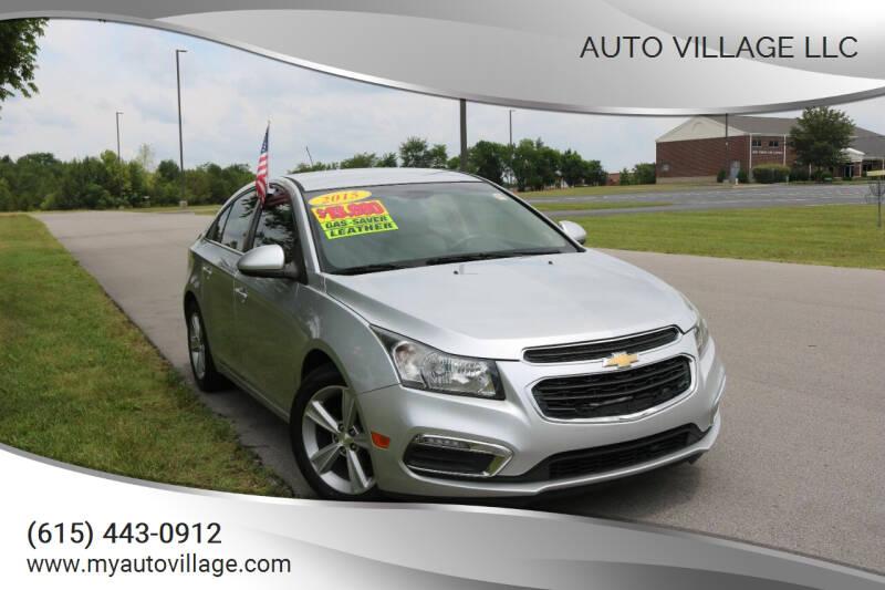 2015 Chevrolet Cruze for sale at AUTO VILLAGE LLC in Lebanon TN