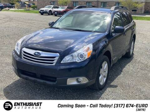 2012 Subaru Outback for sale at Enthusiast Autohaus in Sheridan IN