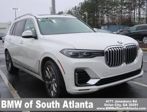 2021 BMW X7 for sale at Carol Benner @ BMW of South Atlanta in Union City GA