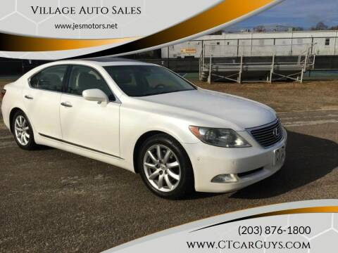 2007 Lexus LS 460 for sale at Village Auto Sales in Milford CT