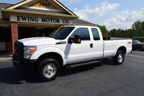 2016 Ford F-250 Super Duty for sale at Ewing Motor Company in Buford GA