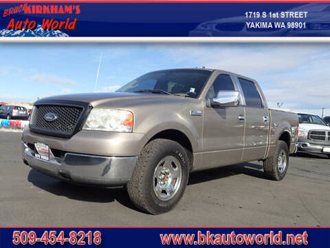 2004 Ford F-150 for sale at Bruce Kirkham Auto World in Yakima WA