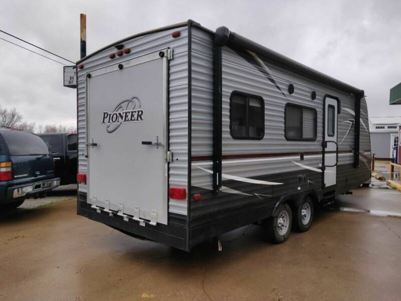 2018 Heartland PIONEER RG22 for sale at Texas RV Trader in Cresson TX