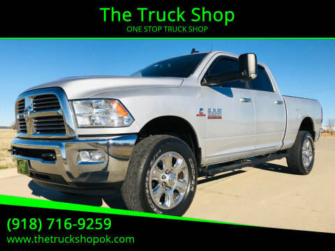 2014 RAM Ram Pickup 2500 for sale at The Truck Shop in Okemah OK