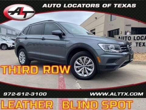 2019 Volkswagen Tiguan for sale at AUTO LOCATORS OF TEXAS in Plano TX