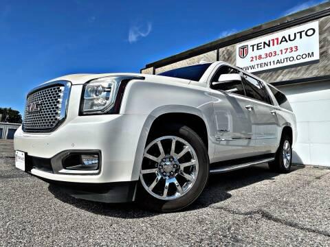 2015 GMC Yukon XL for sale at Ten 11 Auto LLC in Dilworth MN