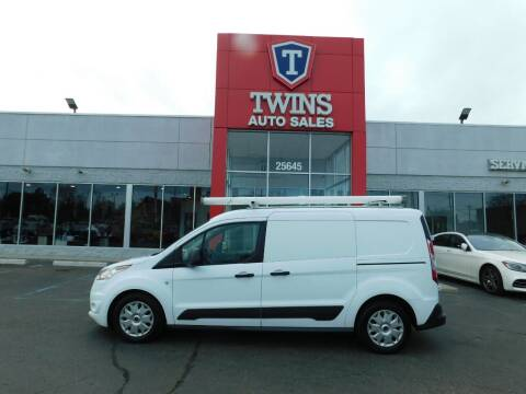 2016 Ford Transit Connect Cargo for sale at Twins Auto Sales Inc Redford 1 in Redford MI