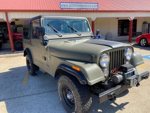 1980 Jeep CJ-7 for sale at PITTMAN MOTOR CO in Lindale TX