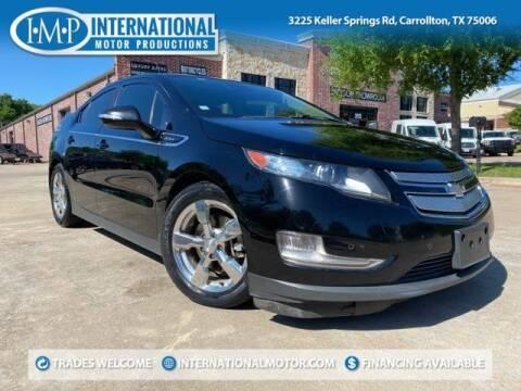 2013 Chevrolet Volt for sale at International Motor Productions in Carrollton TX