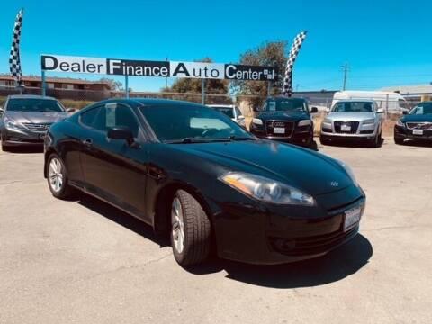2008 Hyundai Tiburon for sale at Dealer Finance Auto Center LLC in Sacramento CA