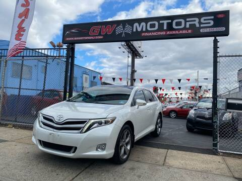 2013 Toyota Venza for sale at GW MOTORS in Newark NJ