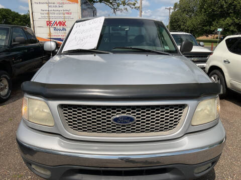 2000 Ford F-150 for sale at Continental Auto Sales in White Bear Lake MN