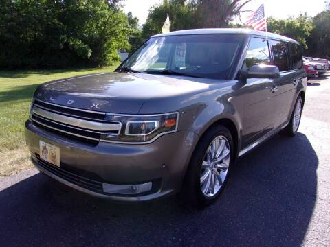 2014 Ford Flex for sale at American Auto Sales in Forest Lake MN