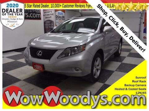2012 Lexus RX 350 for sale at WOODY'S AUTOMOTIVE GROUP in Chillicothe MO