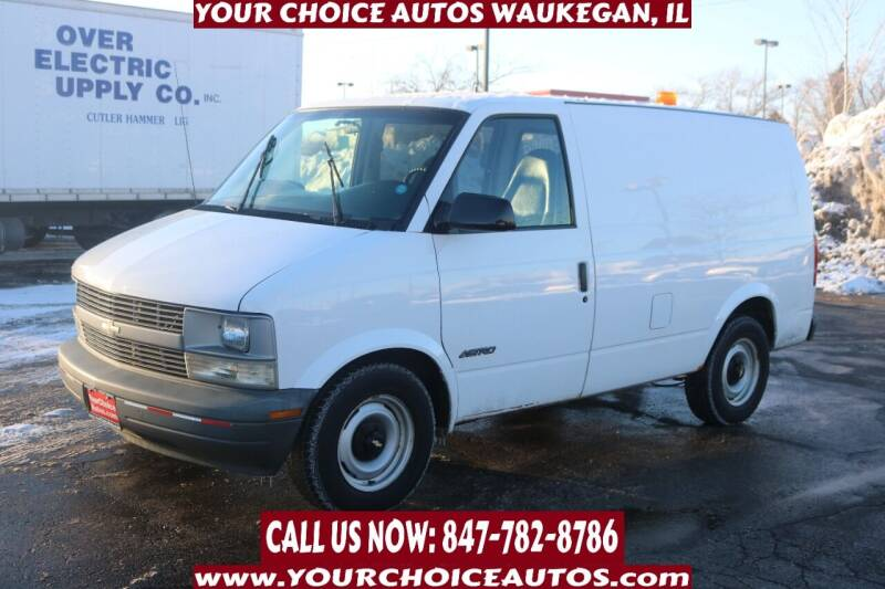 2000 Chevrolet Astro Cargo for sale at Your Choice Autos - Waukegan in Waukegan IL