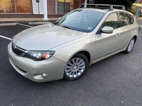 2009 Subaru Impreza for sale at Total Package Auto in Alexandria VA
