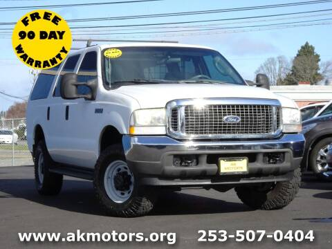 2004 Ford Excursion for sale at AK Motors in Tacoma WA