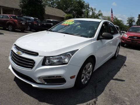 2012 Chevrolet Cruze for sale at C & C Motor Co. in Knoxville TN